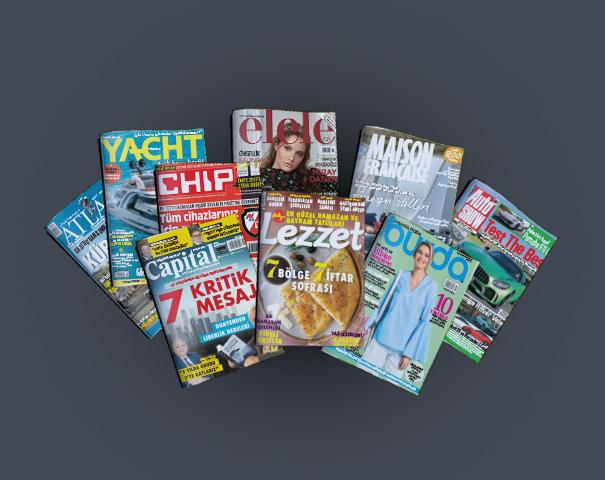 dbabone.com'dan yapılacak dergi aboneliklerinde anında %20 indirim!