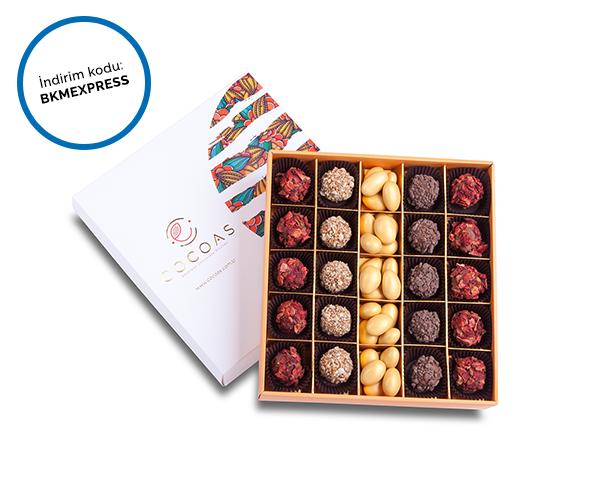 Cocoas Chocolat'da %20 indirim!