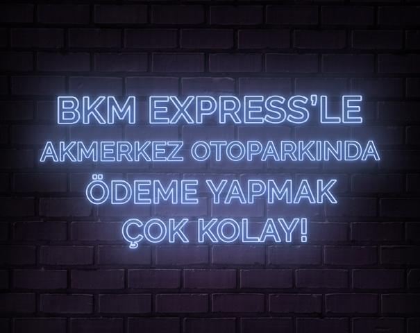 Akmerkez'de her yer otopark ödeme noktası!