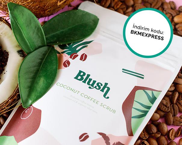 Blush.com.tr'den yapılacak ödemelerde mevcut indirimlere ek %25 indirim!